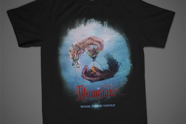 Illuminata t-shirt design by Mario Sanchez Nevado